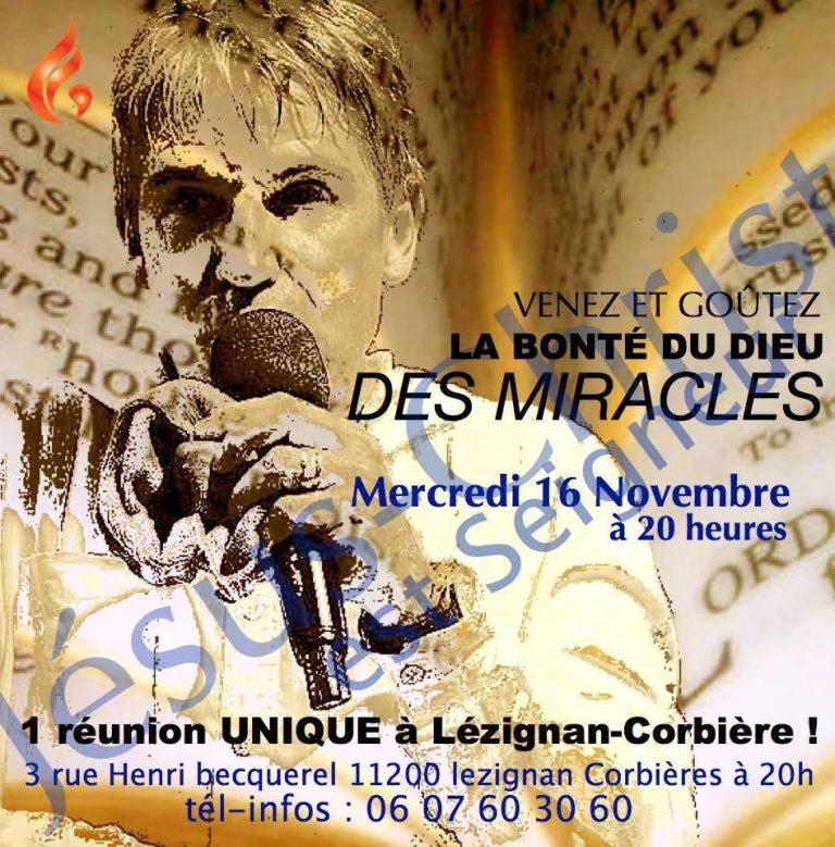 Rémy Bayle à LEZIGNAN-CORBIERES (11) le 16 novembre