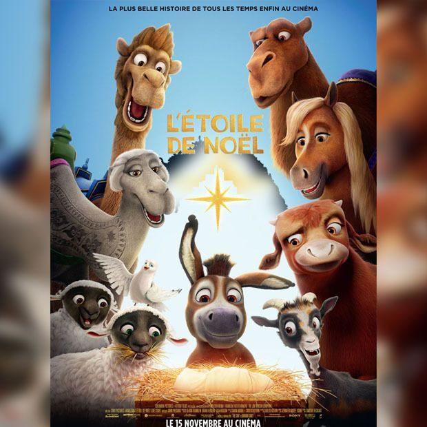 sortie du film d'animation » l'étoile de Noël» le 15 novembre 2017 au cinéma