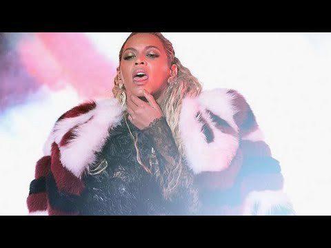 l'étrange peformance de Beyoncé au video music awards 2016