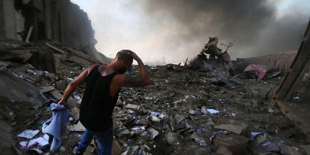 Explosions à Beyrouth : le quartier chrétien ravagé