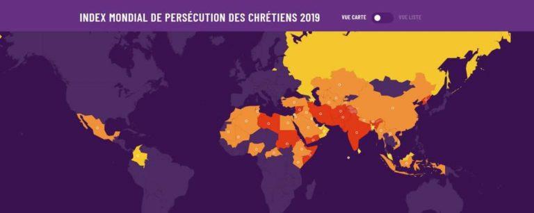 sortie de l'index mondial de persécution des chrétiens 2019