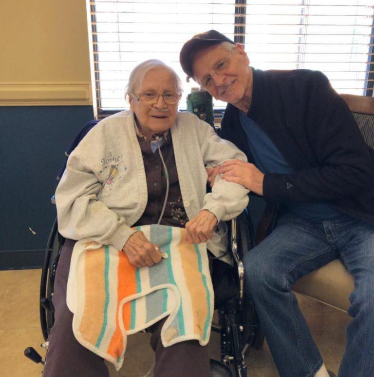 Edith Brachman, 100 ans et survivante du COVID-19 : «Le Seigneur est mon berger»