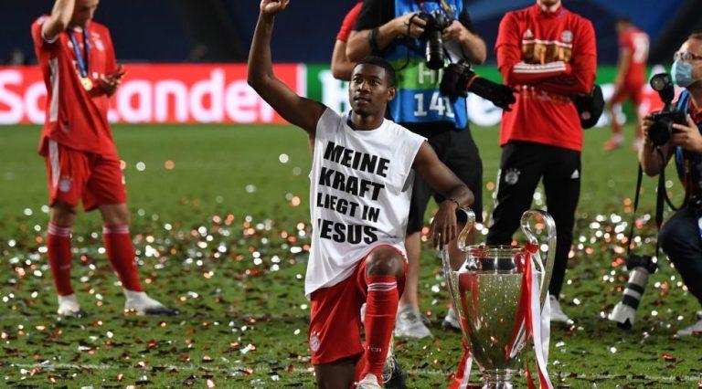 David Alaba fête la victoire en Champions League en rendant gloire à Jésus