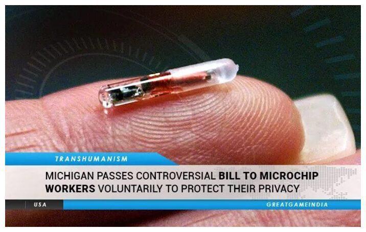 USA : le Michigan vote un loi permettant l'implant de micropuces RFID «au nom du respect de la vie privée»