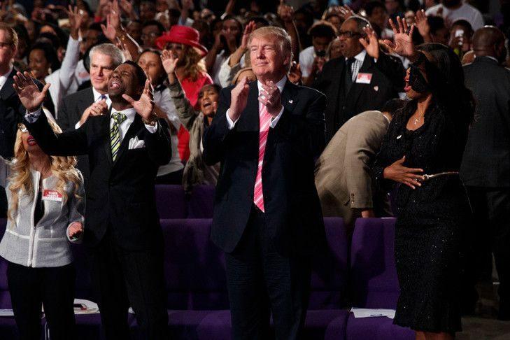Etats-Unis: les élections de novembre seront un référendum sur la liberté religieuse, dit Trump aux évangéliques