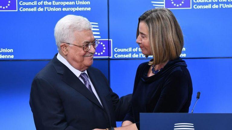 Mahmoud Abbas appelle l'UE à reconnaître «rapidement» la Palestine comme Etat indépendant