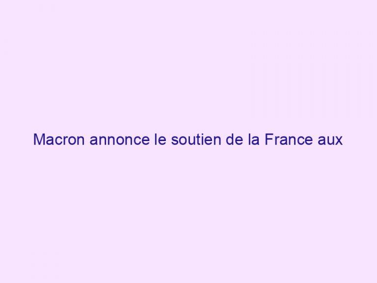 Macron annonce le soutien de la France aux chrétiens d'Orient